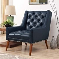 Modway Peruse Armchair in Blue