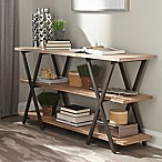 Donny Osmond Home Florence Console Table with Rustic Finish