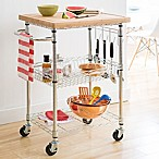 Trinity EcoStorage™ Bamboo Kitchen Cart