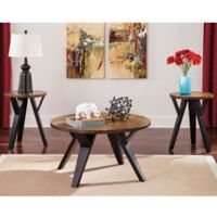 Flash Furniture Ingel 3-Piece Table Set in Brown