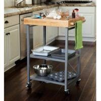 Origami Kitchen Cart in Grey