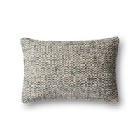 Magnolia Home by Joanna Gaines Sosa Oblong Throw Pillow in Grey