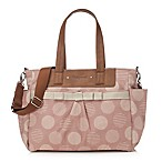 Babymel™ Cara Retro Diaper Bag in Oyster