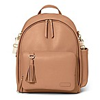 SKIP*HOP® Greenwich Simply Chic Backpack Diaper Bag in Caramel