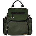 SKIP*HOP® Chelsea Downtown Chic Diaper Backpack in Olive Green