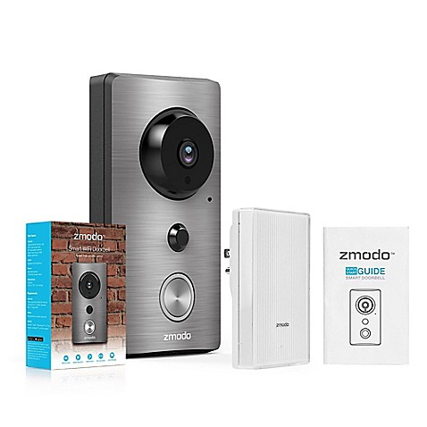 zmodo greet wifi video doorbell with smart home hub. Black Bedroom Furniture Sets. Home Design Ideas