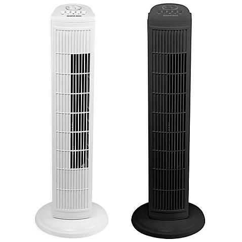 Sharper Image 174 30 Inch 3 Speed Oscillating Tower Fan Bed