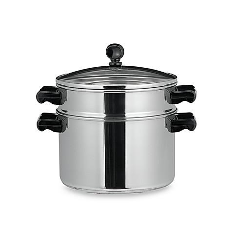 farberware classic series stack steam 3 quart sauce pot with steamer insert bed bath beyond. Black Bedroom Furniture Sets. Home Design Ideas