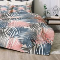 Deny Designs Pattern Jungle Twin/Twin XL Comforter Set in Blue