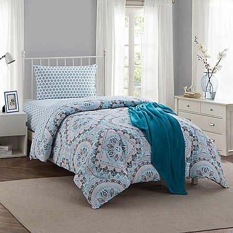 twin and xl within pattern tips ideas theccmca teal beautiful grey flower comforter your org home inspiration