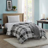 Dustin 16-Piece Twin/Twin XL Comforter Set in Grey