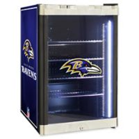 NFL Baltimore Ravens 2.5 cu. ft. Beverage Cooler