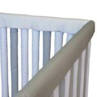 Go Mama Go Designs® 52-Inch x 12-Inch Teething Guard in Grey & White