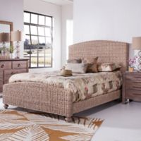 Palmetto Home Panama Jack Driftwood King Woven Bed