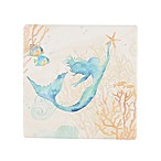 Thirstystone® Occasions Under The Sea Mermaid Square Coaster