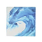 Thirstystone® Occasions Blue Wave Square Coaster