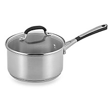 simply calphalon stainless steel 2quart covered saucepan