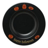 Fiesta® Halloween Trio of Happy Pumpkins Pasta Bowl in Black