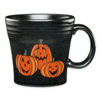 Fiesta® Halloween Trio of Happy Pumpkins Tapered Mug in Black