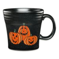 Fiesta® Halloween Trio of Happy Pumpkins Tapered Mug in Black