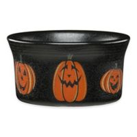 Fiesta® Halloween Trio of Happy Pumpkins Ramekin in Black