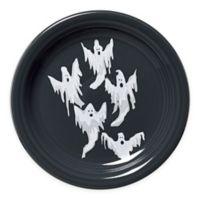 Fiesta® Halloween Ghosts Appetizer Plate in Black