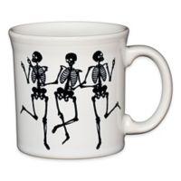 Fiesta® Halloween Trio of Skeletons Java Mug in White