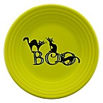 Fiesta® Halloween Trio of Boo Cats Luncheon Plate in Green