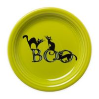 Fiesta® Halloween Trio of Boo Cats Appetizer Plate in Green