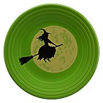 Fiesta® Halloween Harvest Moon Witch Luncheon Plate in Green