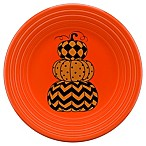 Fiesta® Halloween Geo Pumpkins Luncheon Plate in Orange