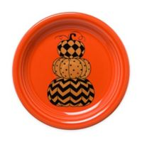Fiesta® Halloween Geo Pumpkins Appetizer Plate in Orange