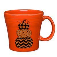Fiesta® Halloween Geo Pumpkins Tapered Mug in Orange