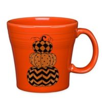 Fiesta® Halloween Geo Pumpkins Tapered Mug in Orange