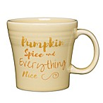 Fiesta® Halloween Pumpkin Spice Tapered Mug in Cream