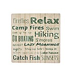 Thirstystone® Occasions Camp Fires Square Coaster