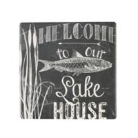 Thirstystone® Occasions Lake House Square Coaster