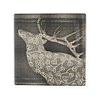 Thirstystone® Occasions Deer Elegance Square Coaster