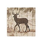 Thirstystone® Occasions Deer Crossing Square Coaster