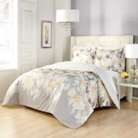 Marble Hill Garden Party Reversible 3-Piece Queen Comforter Set