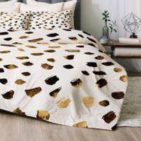 Deny Designs Gold V03 Twin/Twin XL Comforter Set in Gold