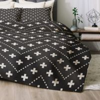 Deny Designs Dash and Plus Twin/Twin XL Comforter Set in Grey