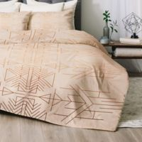 Deny Designs Esprit Twin/Twin XL Comforter Set in Gold