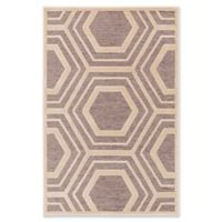 Surya Covina Geometric 2'2 x 3' Accent Rug in Taupe