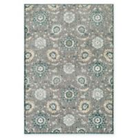Surya Carlisle Floral Medallion 5-Foot 3-Inch x 7-Foot 3-Inch Area Rug in Camel