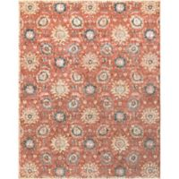 Surya Carlisle Floral Medallion 7-Foot 10-Inch x 9-Foot 10-Inch Area Rug in Rose