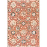 Surya Carlisle Floral Medallion 8-Foot 10-Inch x 12-Foot 9-Inch Area Rug in Rose