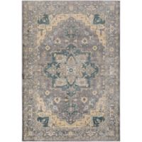 Surya Carlisle Oval Medallion 1-Foot 10-Inch x 2-Foot 11-Inch Accent Rug in Beige