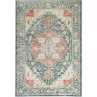 Surya Carlisle Oval Medallion 1-Foot 10-Inch x 2-Foot 11-Inch Accent Rug in Sage
