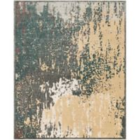 Surya Carlisle Abstract 7-Foot 10-Inch x 9-Foot 10-Inch Area Rug in Camel